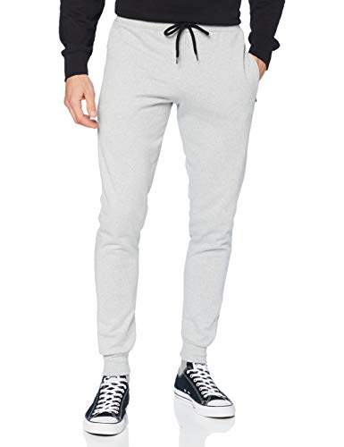 FM London Hyfresh Slim Fit, Pantalones deportivos Hombre, Gris (Grey 15), Large