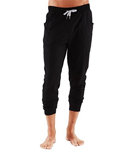 Manduka Hombre Intentional Pantalones, Hombre, Black Black