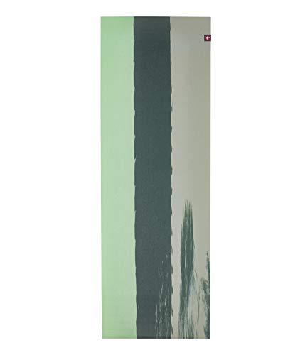 Manduka eKO Superlite - Alfombrilla de viaje para yoga y pilates (rayas de fresno verde)