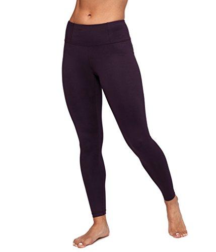 Manduka Essential para Mujer, Mujer, Legging por el Tobillo, Essential Legging - Deep Plum - XL, Morado, Extra-Large