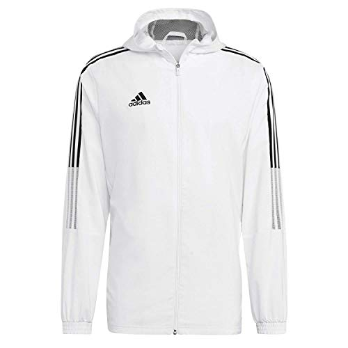 adidas GM7309 TIRO21 TK JKT Jacket Mens White XL