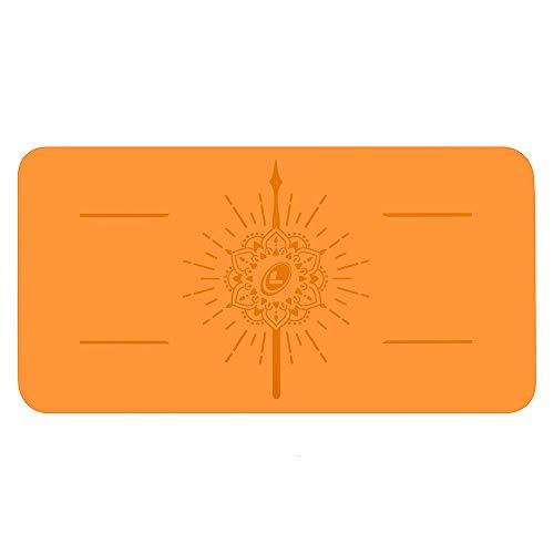 Liforme Yoga Pad - Esterilla de Yoga Antideslizante para Rodillas, Brazos y Codos - con Sistema Patentado De Alienación y Máximo Agarre - Colchoneta de Yoga Biodegradable y Eco-Friendly