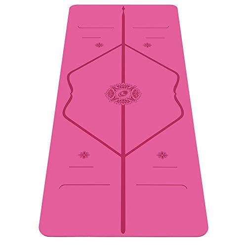 Liforme Esterilla De Yoga Gratitude - Mejor Estera De Yoga del Mundo con Sistema De Alineación Patentado - Yoga Mat Ecológica y Completamente Antideslizante - Edición Especial Gratitude.
