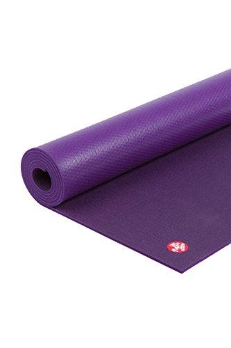 Estera para yoga y pilates de Manduka Pro, Unisex, Black Magic