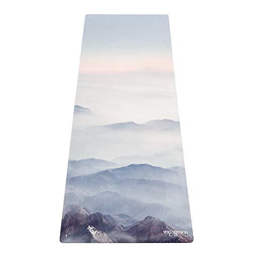 Yoga Design Lab La Esterilla de Yoga Combo 3.5mm Dos en Uno | Antideslizante | Acolchada | Ecológica | Lavable a la Máquina (Kaivalya)