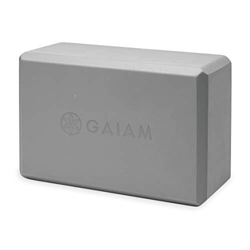 gaiam Yogablocke Yoga Block Grey, Gris, Talla Única