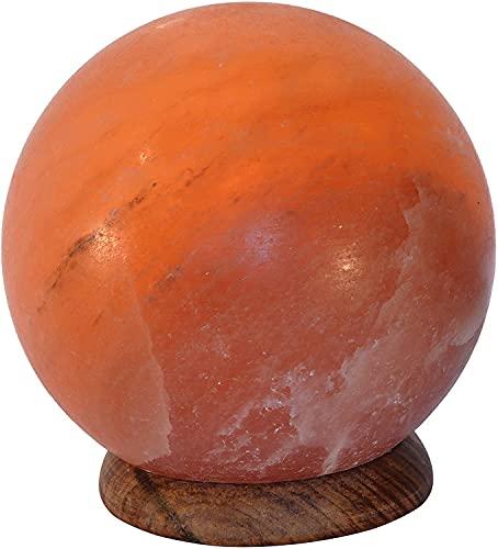 BOSALLA Lámpara de Sal del Himalaya (Esfera)