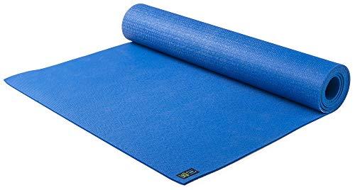 Esterilla Jade Yoga para yoga de nivel uno, sostenible, para un agarre seguro, para ayudar a sostener tu postura, 173 cm, Azul clásico