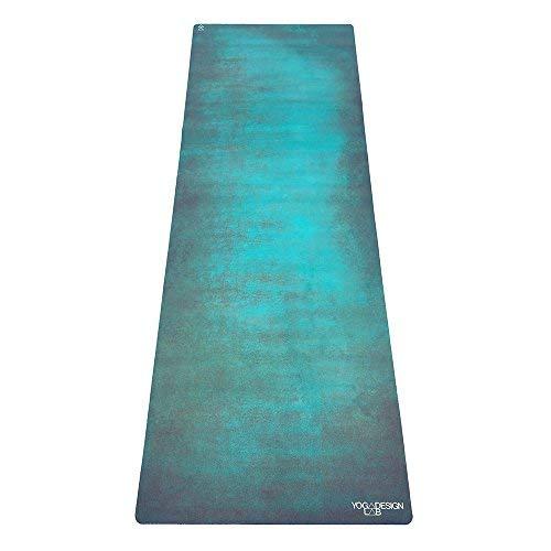 Yoga Design Lab La Esterilla de Yoga Combo 3.5mm Dos en Uno | Antideslizante | Acolchada | Ecológica | Lavable a la Máquina (Aegean Green)