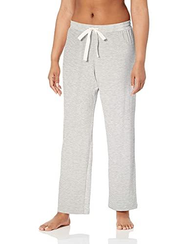 Amazon Essentials - Pantalón - para mujer gris Grey Heather Stripe XXL