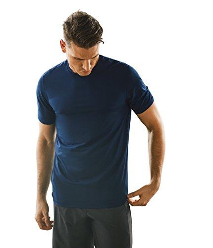 Manduka - Camiseta para Hombre, Color Midnight, tamaño Small