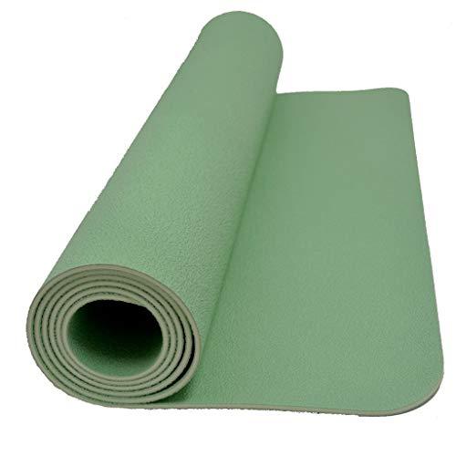 Sternitz - Esterilla de Yoga Pro - Latex Natural - Eco-Friendly - Antideslizante - Yoga Mat Natural Latex (185cm x 70cm x 4mm, Verde)