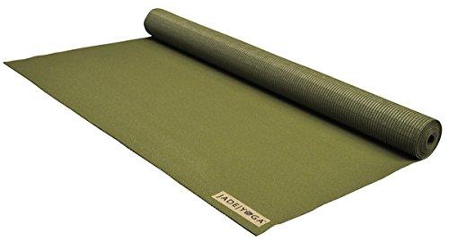 Jade Voyager esterilla de yoga de viaje de 16 mm de espesor 61 x 173 cm, verde oliva