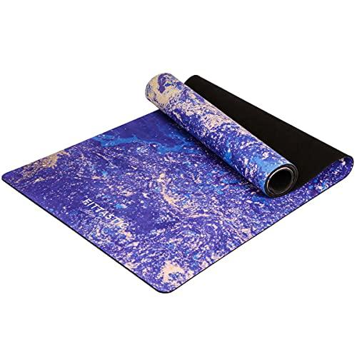 La fittastic Premium All-in-One–Esterilla de yoga. Antideslizante, toalla/Matte en un. Designed para una mejor sujeción al sudor. materiales ecológicos. Lavadora fijo. Hot Yoga, Bikram, y Ashtanga