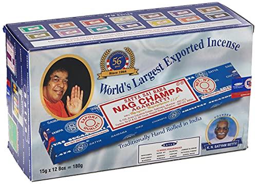 Satya surtido de inciensos 12 cajas de 15g