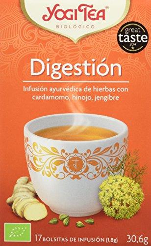 Yogi Tea Digestión - Paquete de 6 x 17 Sobres - Total: 102 Sobres