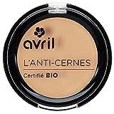 """Avril Corrector de ojeras, Certificado """"orgánico"""", Nude, 2,5g"""