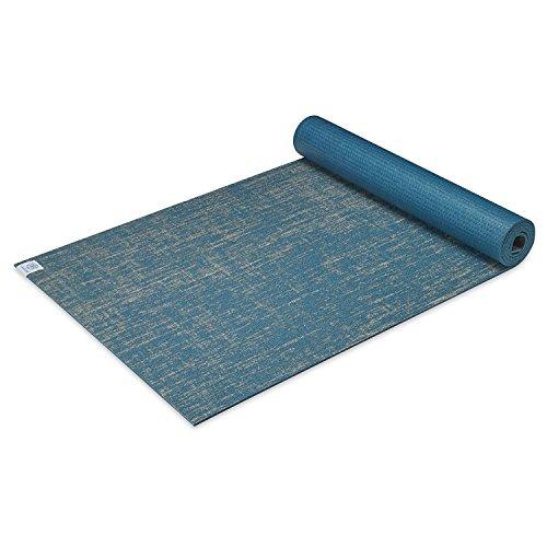 Gaiam Esterilla de yoga de yute extra gruesa para ejercicio y fitness para todos los tipos de yoga, pilates y ejercicios de suelo