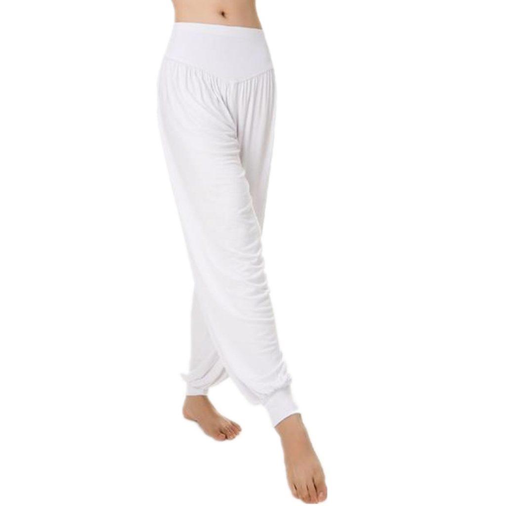 Comprar Pantalones de Yoga Blanco