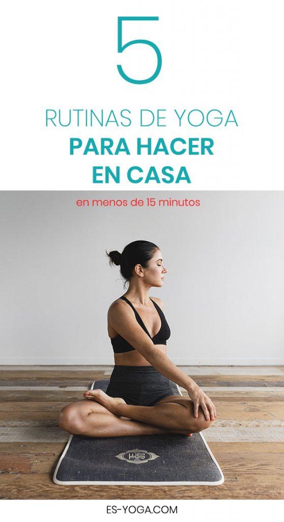 Clases de Yoga en casa