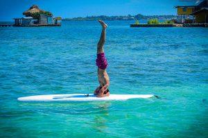 Nuesto estilo de Paddle board Yoga