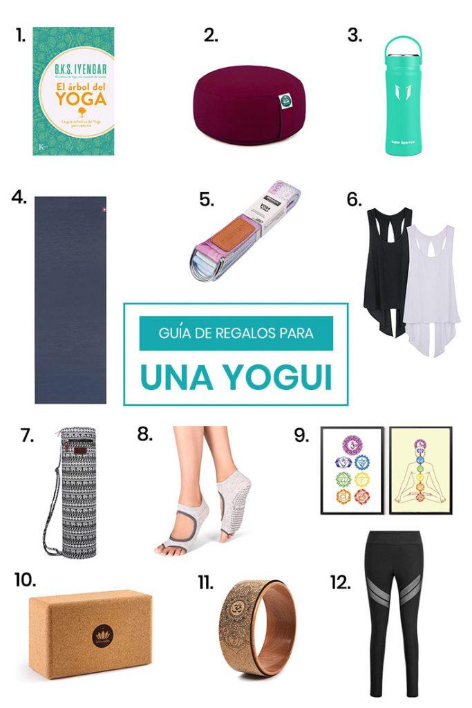 Guía para regalar a un practicante de yoga