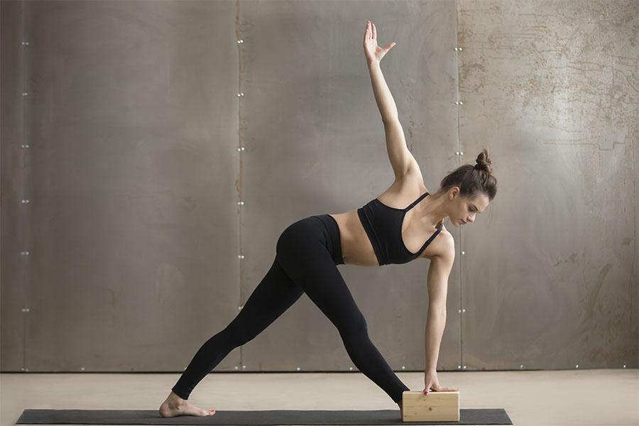 Bloques de yoga de madera