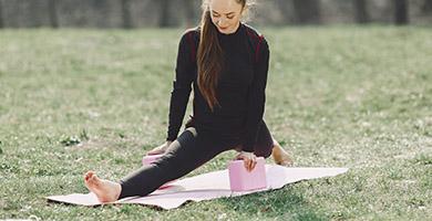 bloques de yoga por material